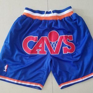 New Just Don Cleveland Cavaliers Basketball Shorts
